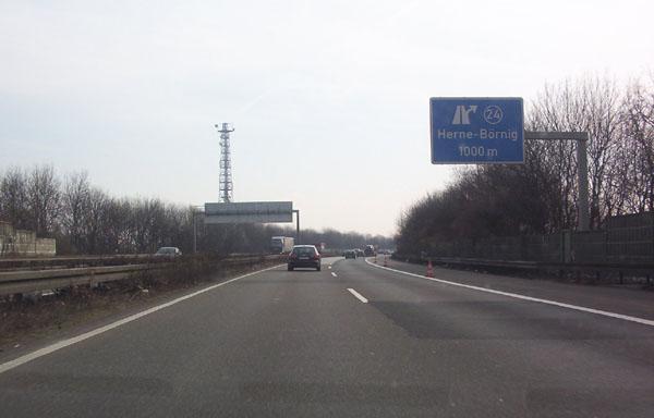 Oberhausen Dortmund Entfernung