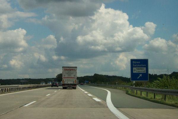 Stau A44 Dortmund Kassel