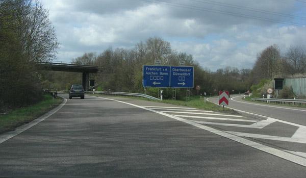 A4 Aachen Köln