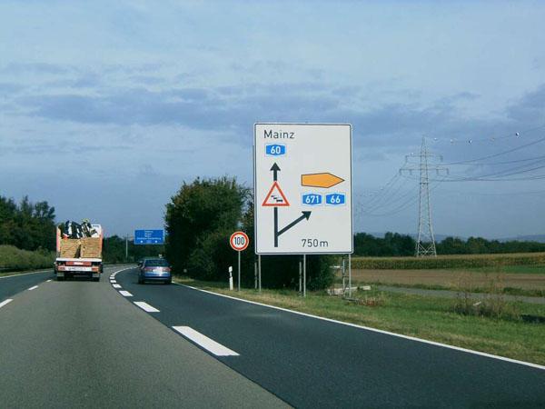 Autobahn A60 Aktuell